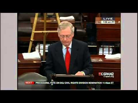 McConnell Delivers Scathing Criticism of Obama Nominee Adegbile