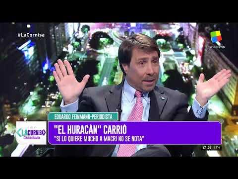 Feinmann: Si Carrió lo quiere a Macri