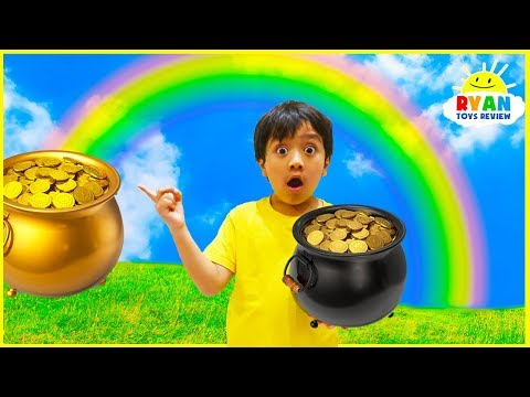 How is a rainbow formed?  Educational  for kids with Ryan ToysReview