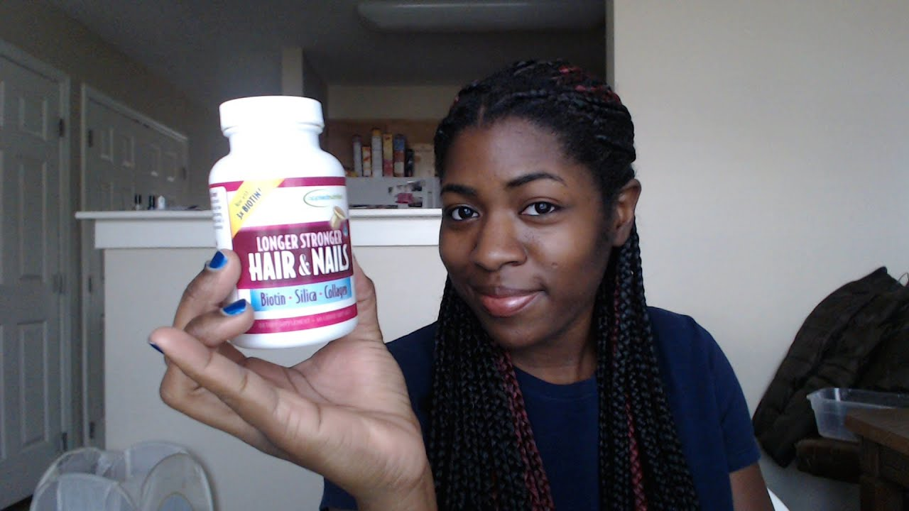 Review Longer Stronger Hair Amp Nails Vitamins Applied
