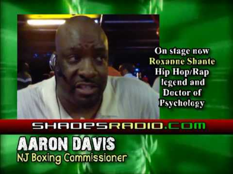 Kurt Nice interviews NJ Boxing Comissioner Aaron Davis