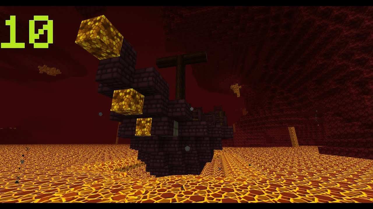 minecraft how to make a nether