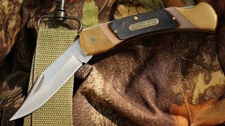 Legendary Old Timer 7OT Cave Bear -- Best Lockback Folding Knife