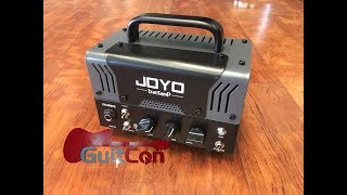 Baixar GuitCon 2018 - Joyo BanTamP ZoMBie Amp Head - a quick and dirty review