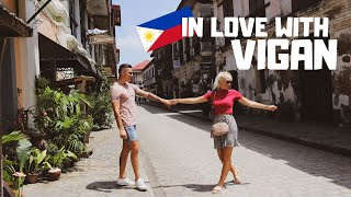 Foreigners Exploring BEAUTIFUL Vigan, Philippines! Have we gone BACK in Time?!?!