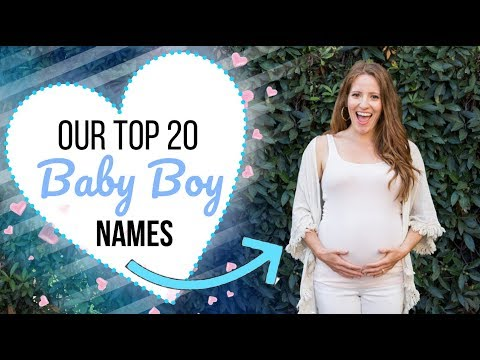 20 Baby BOY Names With Positive Meanings I Love!
