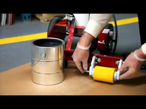 newstripe paint striping machine