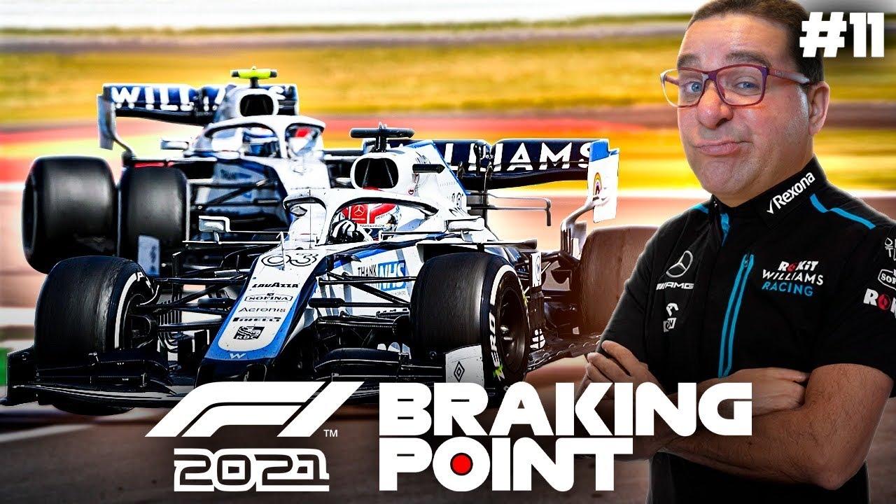 F1 2021 BRAKING POINT #11 | SÓ PASSAS SE FORES MAIS RÁPIDO (PORTUGUÊS)