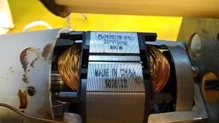 Жөндеу электромясорубки Аксион М25.