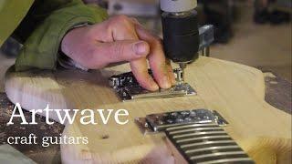 изготовление корпуса электрогитары  Artwave (Production of a body of an electric guitar Artwave)