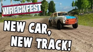 Wreckfest February Update - NEW CAR, NEW TRACK, NEW GAMEPLAY - Next Car Game Early Access