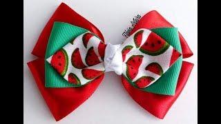 Laço simples com laço gravata