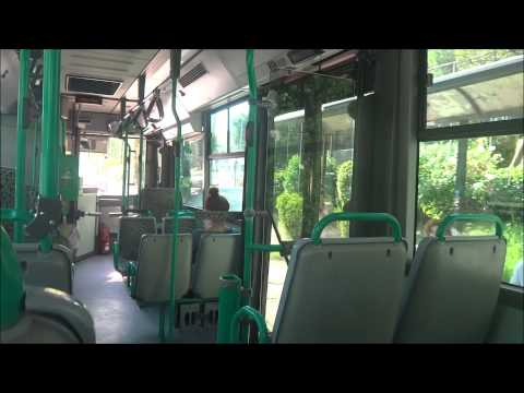 Athens Bus: Riding a Renault/Irisbus Agora CNG (natural gas)