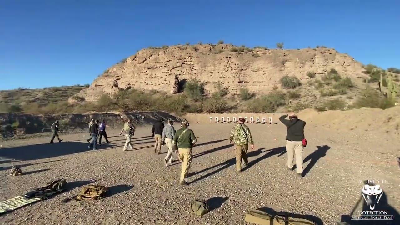 Jeff Gonzales Carbine Class (Part 15 - Practicing Prone)