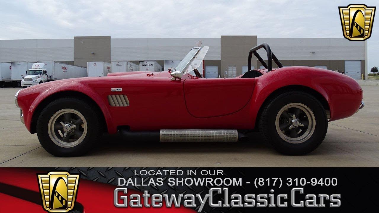 1964 AC Cobra Replica #518-DFW Gateway Classic Cars of Dallas ...