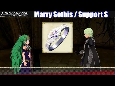 FE3H Marriage / Romance Sothis (S Support Conversation) - Fire Emblem Three Houses