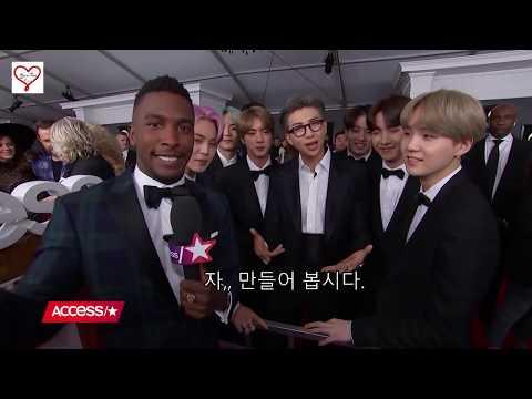 [한글자막] 방탄 그래미 Access  인터뷰 #  BTS Share Their Dream Collaboration Stars Access
