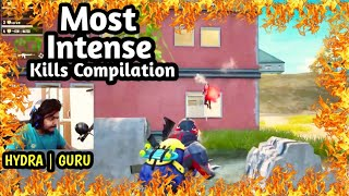 Gaming Guru Most Intense Kill Compilation | Akm No Scope & Dp 28 Montage | HYDRA GURU