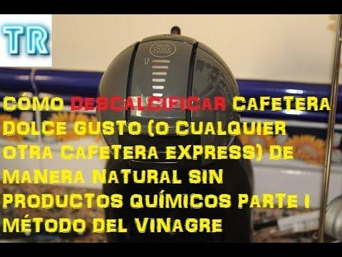 DESCALCIFICAR CAFETERA DOLCE GUSTO SIN QUÍMICA PARTE 1