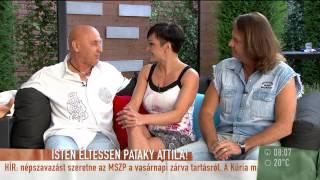 Szandi a frászt hozta Pataky Attiláékra - 2015.07.02. - tv2.hu/mokka