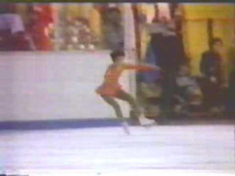 Tiffany Chin (USA) - 1981 World Jrs., Ladies' Long Program