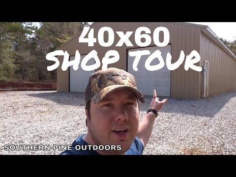 Garage/Shop Tour 40X60