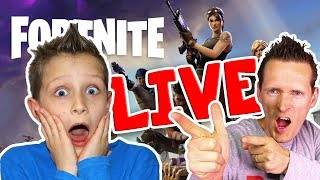 FORTNITE Live Stream with FREDDY