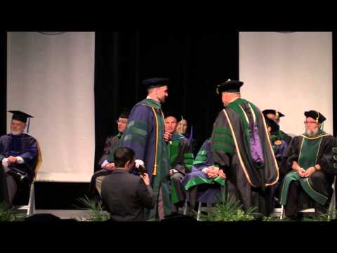 School of Medicine: M.D. and Ph.D. Commencement, 2015: West Virginia University