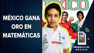 Más allá de Tokio, mexicanos ganan 27 medallas en olimpiadas de matemáticas   Mientras Tanto en MX