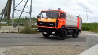 PRIMEUR Brandweer lier gaat water halen zeer grote brand Antwerpen