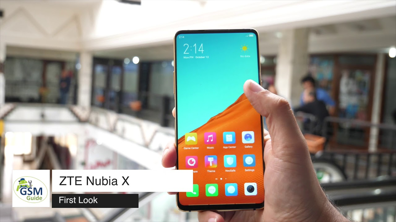 DUAL SCREEN PHONE FIRST LOOK ZTE 2020 HAND ON