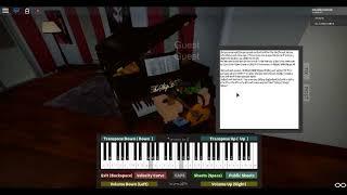 Roblox Piano - Moonlight sonata