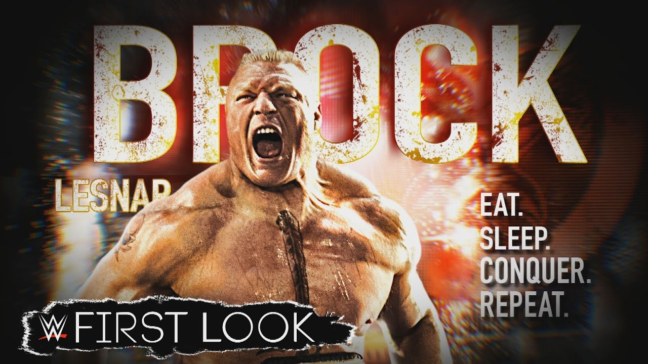 WWE Network Sneak Peek Brock Lesnar Eat Sleep Conquer Repeat