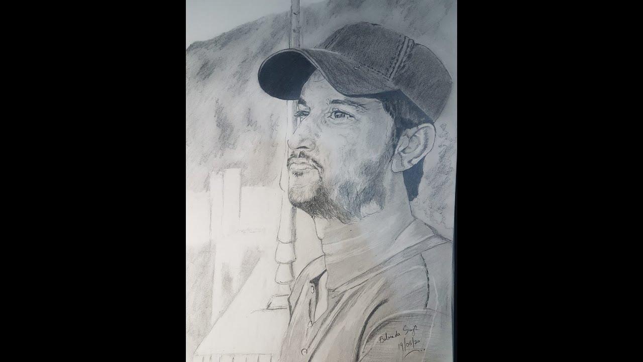 Under progress, Sushant Singh Rajput, pencil art, time ...