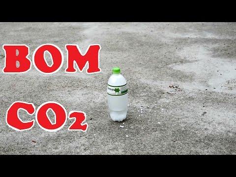 Bom Băng Khô - Bom Đá Khô - Bom CO2 - Dry Ice Bomb
