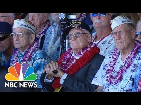 Remembering Pearl Harbor 75 Years Later At USS Arizona Memorial | NBC News