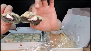 저.. 박미선떡에서 협찬 받았어요!!^^  박미선떡 치즈팥떡 영양찰떡 리뷰 먹방 Rice cake Mukbang