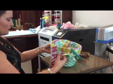 How to put HTV on a stuffed animal
