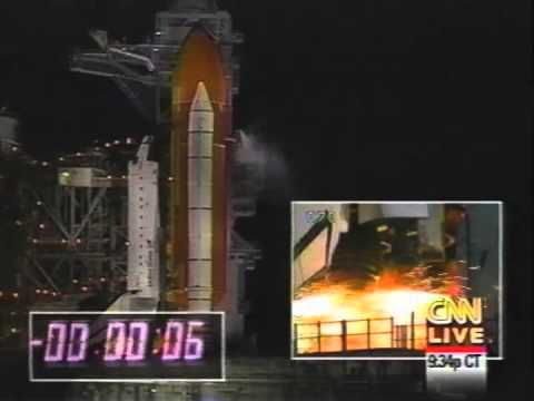 space shuttle landing night - photo #23
