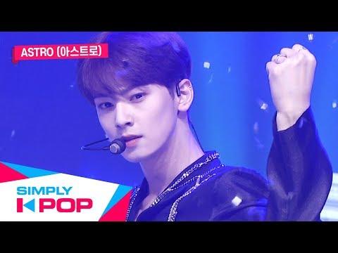 Simply K-Pop Simply&39;s Spotlight ASTRO아스트로  When The Wind Blows찬바람 불 때면 + Blue Flame  Ep390