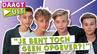 FOURCE DOET DE FINISH THE LYRIC CHALLENGE | TINA DAAGT UIT #20 | TinaTV