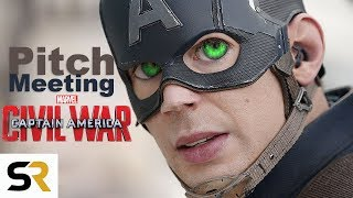 CAPTAIN AMERICA: CIVIL WAR Pitch Meeting - How It All Started thumbnail