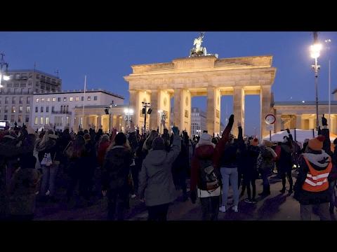 One Billion Rising - Berlin 2017 - Performance Komplett