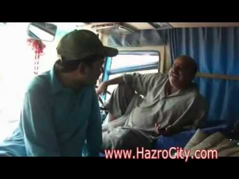 Interview of Passengers & Drivers of  Karachi to Asghar village (Hazro) by Booked Coach Part 02