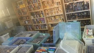 Huge Video Game Collection at Estate Sale - #CUPodcast