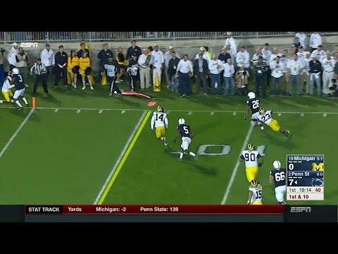 Saquon Barkley 15-Yard Touchdown Run vs. Michigan