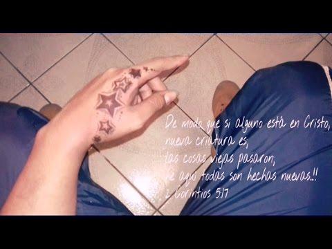 Como Hacer Un Tatuaje Falso Con Lapicero Estrellas Youtube