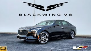 2020 Cadillac CT6-V // This BLACKWING V8 is a Performance MONSTER!
