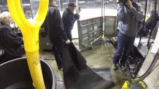 A Skate With Vancouver Giants Ice Team