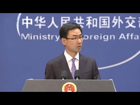 Chinese Foreign Ministry: Aircraft carrier constructed to maintain world peace